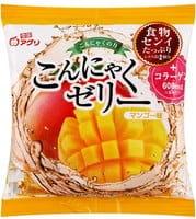 YUKIGUNI Десерт желе конняку, с соком манго, порционное, 6 пакетиков.