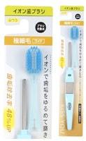 Hukuba Dental Ионная зубная щётка широкая, средней жёсткости, ручка + 1 головка.