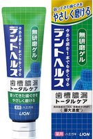 """Lion """"Dent Health Smooth Gel"""" Гелевая зубная паста для профилактики опущения, кровоточивости дёсен и неприятного запаха изо рта, 85 г."""