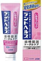 LION «Dent Health» Зубная паста для профилактики опущения, кровоточивости дёсен, неприятного запаха изо рта и повышеной чувствительности зубов, 85 г.