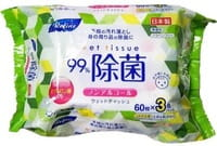 Life-do Влажные салфетки с антибактериальным эффектом, 200х125 мм, 3х60 шт.