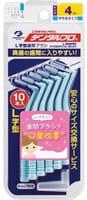 Dentalpro Ёршики для чистки межзубных промежутков, с наклонной головкой, размер M, 10 шт.