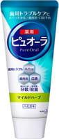 KAO «Pure Oral» Антибактериальная зубная паста «Свежая трава» для профилактики кариеса и гингивита, 115 г.