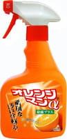 """Yuwa """"Orange Man"""" Универсальное моющее средство против стойких загрязнений, с дезинфицирующим и дезодорирующим эффектом, 400 мл."""