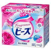 """KAO Стиральный порошок """"AIRY BEADS"""" со смягчителем, с ароматом розовой розы, для белого и цветного белья, 850 гр."""