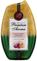 ST Жидкий освежитель воздуха для комнаты, элегантная роза и роскошная герань, 400 мл.
