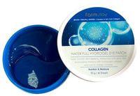 """FarmStay """"Collagen Water Full Hydrogel Eye Patch"""" Патчи для глаз с коллагеном, ламинарией, спирулиной и жемчугом, 60 шт."""