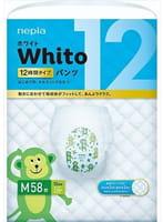 """Nepia """"Whito"""" Трусики 12 часов, размер M (7-10 кг), 58 шт."""