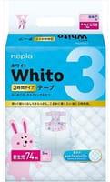 NEPIA «Whito» Подгузники для новорождённых, 3 часа, размер NB (до 5 кг), 74 шт.