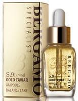 """Bergamo """"Specialist S.Nine Gold Caviar Ampoule"""" Ампульная сыворотка с золотом и экстрактом икры, 30 мл."""