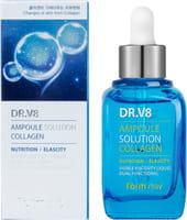FarmStay «DR-V8 Ampoule SoluTion Collagen» Ампульная сыворотка с коллагеном, 30 мл.