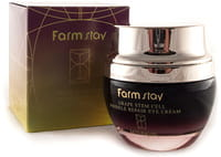 FarmStay «Grape Stem Cell Wrinkle Repair eye Cream» Восстанавливающий разглаживающий крем для глаз, с фито-стволовыми клетками винограда, 50 мл.