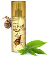 FarmStay «It's Real Gel Mist Escargot» Гель-спрей для лица, с экстрактом улитки, 120 мл.