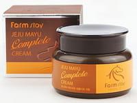 FarmStay «Jeju Mayu Complete Cream» Крем с лошадиным маслом для сухой кожи, 100 г.