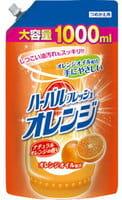 Mitsuei Средство для мытья посуды, овощей и фруктов с ароматом апельсина, 1000 мл.