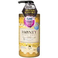 DAIICHI «Funs Honey Milk» Гель для душа увлажняющий с экстрактом мёда и молока, 500 мл.