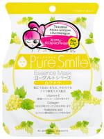 SUN SMILE «Yougurt» Маска для лица на йогуртовой основе, c виноградом, 1 шт.