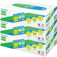 Nepia Кухонные бумажные полотенца, 3х75 листов.
