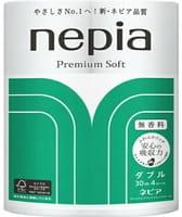 """Nepia """"Premium Soft"""" Двухслойная туалетная бумага, 30 м, 4 рулона."""