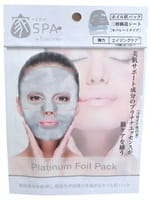 SUN SMILE «Pure Smile Home Spa Platinum» Маска для лица фольгированная, с коллоидной платиной, экстрактом чайного листа и гиалуроновой кислотой, 1 шт.