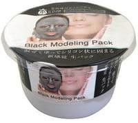 SUN SMILE «Pure Smile Home Spa Black» Альгинатная маска для лица на основе диатомита, с древесным углём и экстрактом чёрного жемчуга, 20 г.