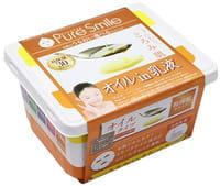 SUN SMILE «Pure Smile Essence mask» Увлажняющая маска для сухой кожи, с растительными маслами, молочной сывороткой и экстрактом эдельвейса, 30 шт.