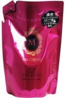 SHISEIDO «Ma Cherie» Бессиликоновый шампунь для придания объёма волосам, с цветочно-фруктовым ароматом, мягкая упаковка, 380 мл.