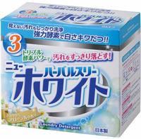 "Mitsuei ""Herbal Three New White"" Стиральный порошок с дезодорирующими компонентами, отбеливателем и ферментами, 850 г."
