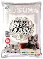 KOHCHO «Neo Loo Life» Комкующийся туалетный наполнитель (смываемый в канализацию), для контроля состояния здоровья животного, 6 л.