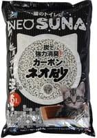 KOCHO «Neo Loo Life» Комкующийся туалетный наполнитель для обеспечения гигиены животного, с активированным углём, 6 л.
