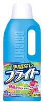 """Lion 530640 Lion Гель-отбеливатель кислородный """"Яркость"""" для ежедневного использования удаляет желтизну """"Bright"""" 1000мл/12"""