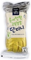 "MyungJin ""Rubber Glove Mymy Mini"" Перчатки латексные хозяйственные, размер S, 10 пар."