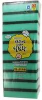 INSAN «Sponge Scrubber» Губка для мытья посуды двухслойная, верхний слой с абразивными волокнами, 10 шт.
