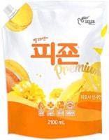 Pigeon (Корея) Кондиционер для белья «Жёлтая мимоза», мягкая упаковка, 2,1 л.