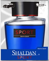 ST «Shaldan Marine Splash» Жидкий ароматизатор для салона автомобиля, с ароматом морского бриза, 100 мл.