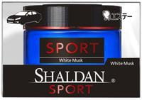 ST «Shaldan White Musk» Гелевый ароматизатор для салона автомобиля, с ароматом белого мускуса, 39 мл.