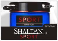 "ST ""Shaldan White Musk"" Гелевый ароматизатор для салона автомобиля, с ароматом белого мускуса, 39 мл."