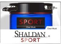 ST «Shaldan Clear Musk» Гелевый ароматизатор для салона автомобиля, с чистым мускусным ароматом, 39 мл.