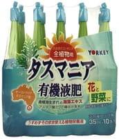 YORKEY Органическое удобрение «Тасмания» для активизации и роста цветов, 10 шт. по 35 мл.