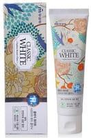 MUKUNGHWA «Classic White Saphire Beauty Clinic» Отбеливающая зубная паста, с ароматом мяты и зелёного чая, 110 г.