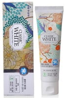 "Mukunghwa ""Classic White Saphire Beauty Clinic"" Отбеливающая зубная паста, с ароматом мяты и зелёного чая, 110 г."