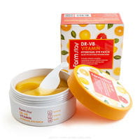 """FarmStay """"DR-V8 Vitamin Hydrogel Eye Patch"""" Гидрогелевые патчи для области вокруг глаз с витаминами и коллагеном, 60 шт."""