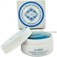 LA MISO Гидрогелевая маска для кожи вокруг глаз, с морским коллагеном, 60 шт.