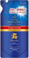 """NISSAN """"Fine Fragrance Homme"""" Антистатический кондиционер для белья с красивым мускатным ароматом чая с бергамотом (длительного действия), сменная упаковка, 500 мл."""