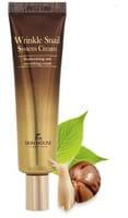 THE SKIN HOUSE «Wrinkle Snail System Cream» Антивозрастной крем на основе муцина улитки, 30 мл.