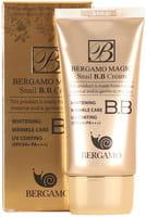 Bergamo «Magic Snail B.B Cream» BB-крем с муцином улитки, SPF 50/PA+++, 50 мл.