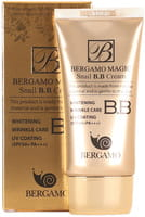 "Bergamo ""Magic Snail B.B Cream"" BB-крем с муцином улитки, SPF 50/PA+++, 50 мл."