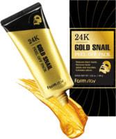 """FarmStay """"24K Gold Snail Peel Off Pack"""" Маска-плёнка с золотом и муцином улитки, 100 г."""