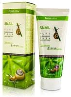 FarmStay «Snail Pure Cleansing Foam» Очищающая пенка с муцином улитки, 180 мл.