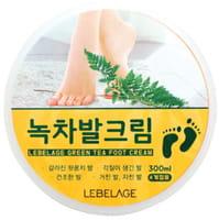 """Lebelage """"Green Tea Foot Cream"""" Крем для ног с экстрактом зелёного чая, 300 мл."""